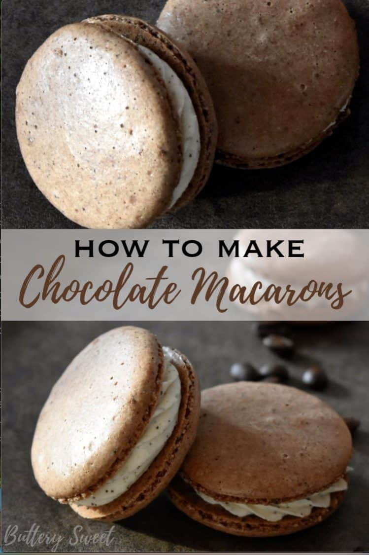 How to Make Chocolate Macarons