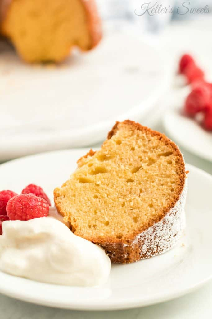 Honey Butter Bundt Cake| This cake is super simple, and you can pair it with your favorite berries, whipped cream, or a honey glaze to add a little more sweetness. |https://butterysweet.com/blog/honey-butter-bundt-cake
