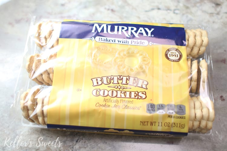 butter cookies for Instant Pot Funfetti Cheesecake crust