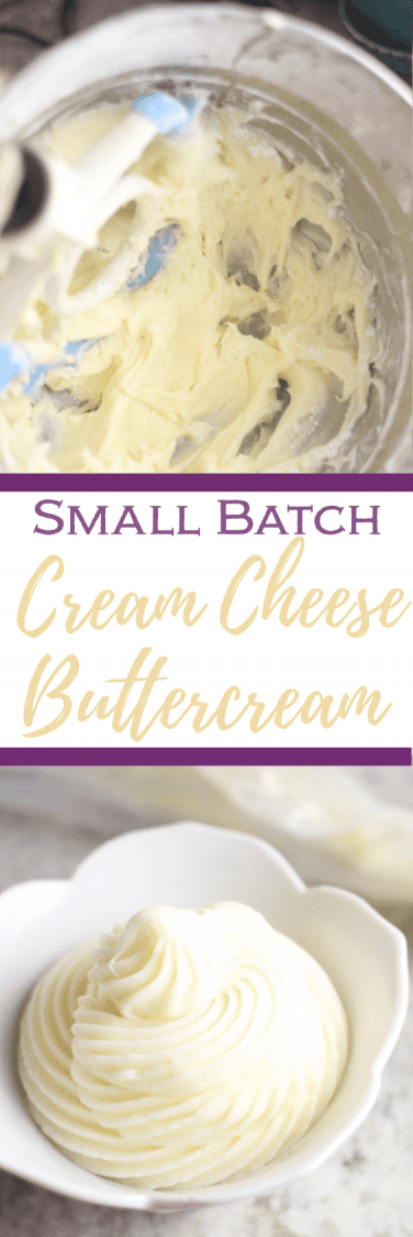 Cream Cheese Frosting with text